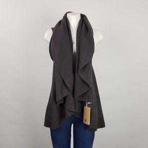 Look Grey Knit Vest Size L
